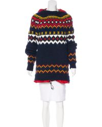 Moncler Grenoble - Wool-blend Hooded Sweater - Lyst