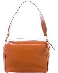 Isabel Marant - Studded Leather Box Satchel Gold - Lyst