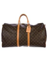 590f559aa529 Lyst - Louis Vuitton Monogram Canvas Leather Speedy 40 Cm Bag in ...
