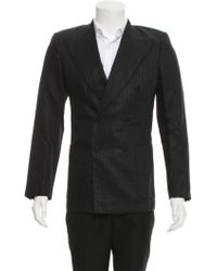 Roberto Cavalli - Striped Double-breasted Blazer W/ Tags - Lyst