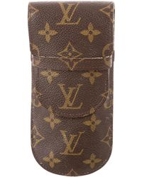 12ffc2a5f515 Lyst - Louis Vuitton Monogram Jewelry Case Brown in Natural