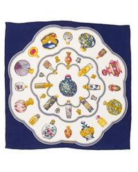 Nina Ricci - Silk Printed Scarf Multicolor - Lyst