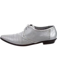 Dior Homme - 2008 Leather Oxfords Metallic - Lyst