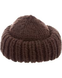 Marc Jacobs - Oversize Wool Hat - Lyst