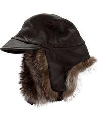 Loro Piana - Fur-trimmed Trapper Hat - Lyst