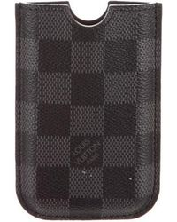 Louis Vuitton - Damier Graphite Iphone 3g Hardcase - Lyst