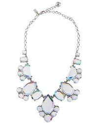Kate Spade - Day Tripper Necklace Silver - Lyst