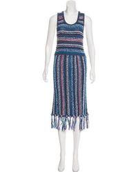 10 Crosby Derek Lam - Knit Midi Dress - Lyst