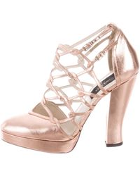 buy cheap pre order Giulietta Leather Cage Pumps many kinds of sale online clearance nicekicks discount deals k5Qu40BLk8