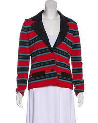 Zac Zac Posen - Striped Jacket - Lyst