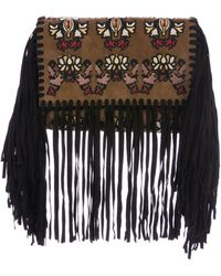 Isabel Marant - Fringed Shiloh Clutch Brown - Lyst