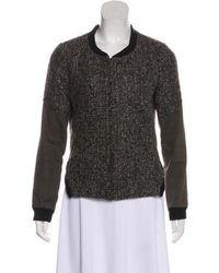 Thakoon Addition - Textured Casual Jacket Grey - Lyst