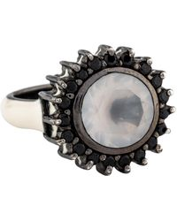 M.c.l  Matthew Campbell Laurenza - Quartz, Spinel & Enamel Ring Silver - Lyst