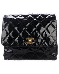 Chanel - Vintage Patent Backpack Black - Lyst