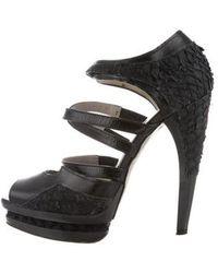 Jason Wu - Multistrap Platform Sandals - Lyst