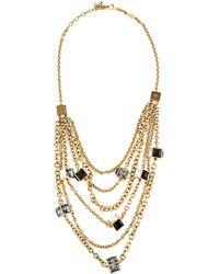 Louis Vuitton - Gamble Crew Necklace Gold - Lyst