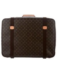 Louis Vuitton - Monogram Satellite 65 Luggage Brown - Lyst