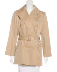 Givenchy - Structured Short Coat Beige - Lyst