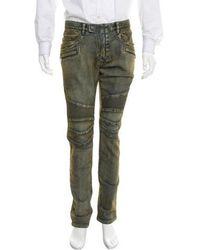 Balmain - 2016 Biker Jeans W/ Tags - Lyst
