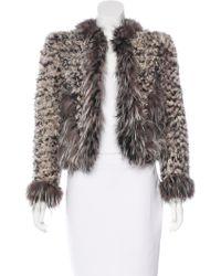 Marc Jacobs - Kalgan Fur Jacket - Lyst