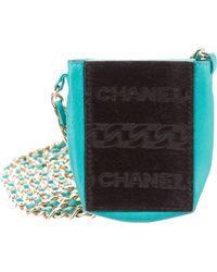 Chanel - Ponyhair Cigarette Crossbody Bag Black - Lyst