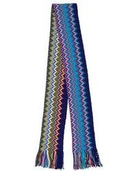 Missoni - Patterned Fringe-trimmed Scarf - Lyst