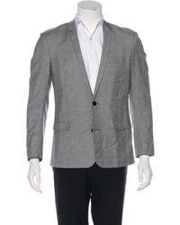Dior Homme - Wool Sport Coat Grey - Lyst