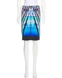 Clover Canyon - Neoprene Digital Print Skirt - Lyst