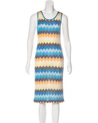 Missoni Sport - Knit Midi Dress - Lyst