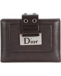 Dior - Leather Photo Holder Black - Lyst