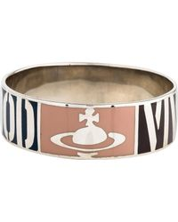 Vivienne Westwood - Hues Bangle Silver - Lyst