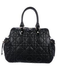 Dior - Leather Cannage Tote Black - Lyst
