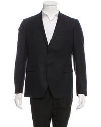 CoSTUME NATIONAL - Wool Two-button Blazer Navy - Lyst