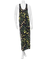 Antipodium - Digital Print Sleeveless Dress - Lyst