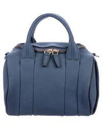 Alexander Wang - Rockie Duffle Bag Blue - Lyst