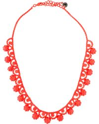 Tom Binns - Neo Neon Painted Collar Necklace - Lyst