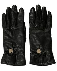 Moschino - Cashmere-lined Leather Gloves - Lyst