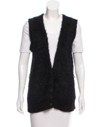 Vanessa Bruno Athé - Textured Knit Vest - Lyst