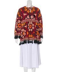 Rhode Resort - Floral Print Tunic Top - Lyst