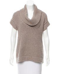 Derek Lam - Cashmere Cowl Neck Sweater Neutrals - Lyst