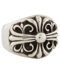 Chrome Hearts - Large Maltese Cross Ring Silver - Lyst