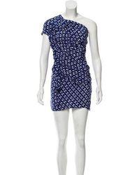 Étoile Isabel Marant - Printed Silk Dress - Lyst