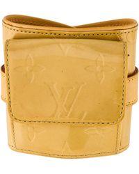 Louis Vuitton - Pocket Wrap Bracelet Gold - Lyst