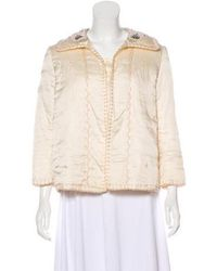 Thakoon - Embellished Button-up Jacket - Lyst