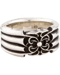 Chrome Hearts - Spider Band Silver - Lyst