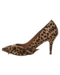 Étoile Isabel Marant - Leopard Print Ponyhair Pumps Tan - Lyst