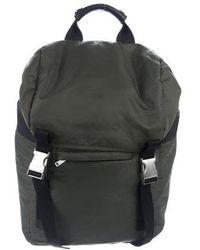 Sandro - Rucksack Woven Backpack Olive - Lyst