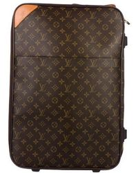 Louis Vuitton - Monogram Pégase 55 Brown - Lyst