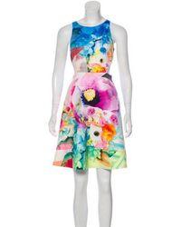 Clover Canyon - Floral Print Sleeveless Dress - Lyst