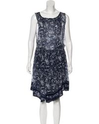 Girl by Band of Outsiders - Printed Knee-length Dress - Lyst